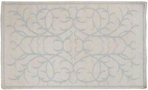 3×5 Soumak Oriental Ivory Soumak Weave Rug