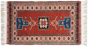 3×5 Yuruk Oriental Rust Hand-Knotted Rug