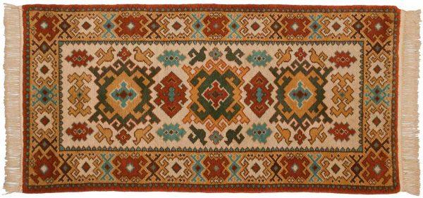 3x6 kazak beige oriental rug 027436