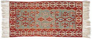 3×6 Kilim Oriental Aqua Kilim (Flatweave) Rug