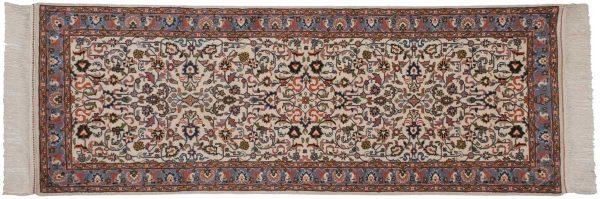 3x7 kashan ivory oriental rug runner 034432