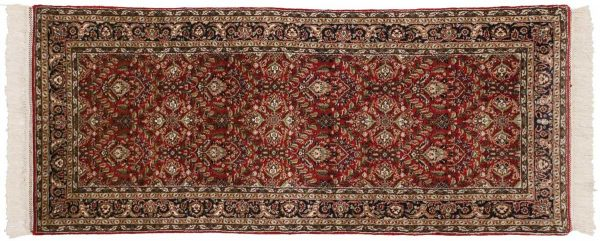 3x7 yezd red oriental rug runner 033818