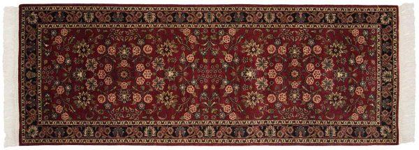 3x8 kashan burgundy oriental rug runner 046879