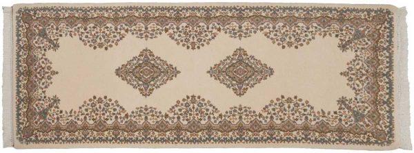 3x8 kerman ivory oriental rug runner 015434