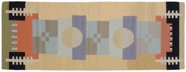 3x8 nicholls multi color oriental rug runner 012842