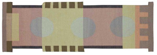 3x9 nicholls multi color oriental rug runner 012676