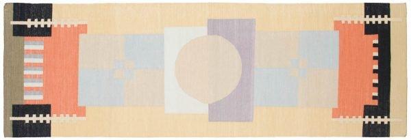 3x9 nicholls multi color oriental rug runner 012834