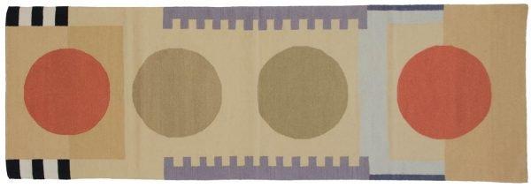 3x9 nicholls multi color oriental rug runner 012851