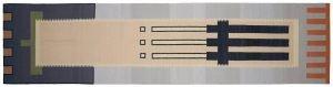 4×16 Vintage Nicholls Oriental Multi Color Kilim (Flatweave) Rug Runner