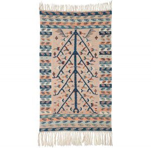 4×6 Kilim Oriental Beige Kilim (Flatweave) Rug