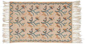 4×6 Kilim Oriental Ivory Kilim (Flatweave) Rug