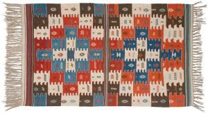 4×6 Kilim Oriental Multi Color Kilim (Flatweave) Rug