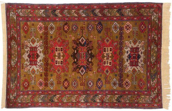 4x6 mikrah gold oriental rug 028204