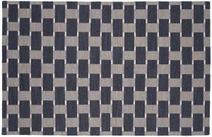 4×6 Soumak Oriental Grey Soumak Weave Rug