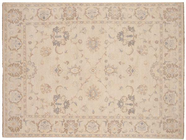 5x6 chobi ivory oriental rug 048428