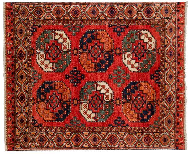5x6 ersari rust oriental rug 048880