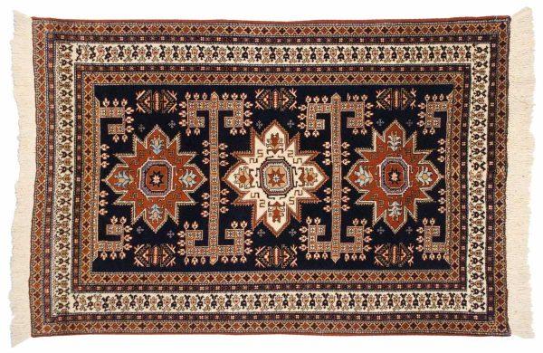 5x6 persian ardebil blue oriental rug 035557