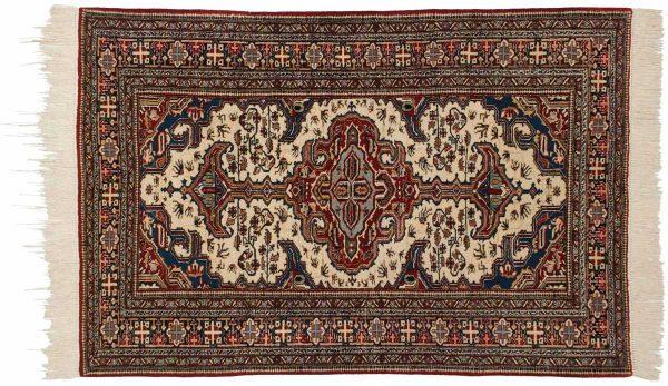 5x6 persian ardebil ivory oriental rug 034888