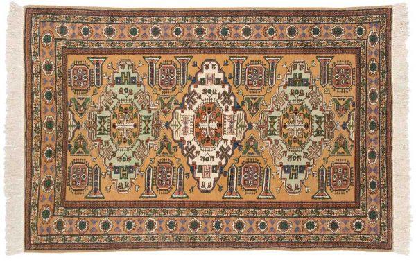 5x6 persian guba gold oriental rug 035428