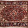 5x6 persian sharabian red oriental rug 034879