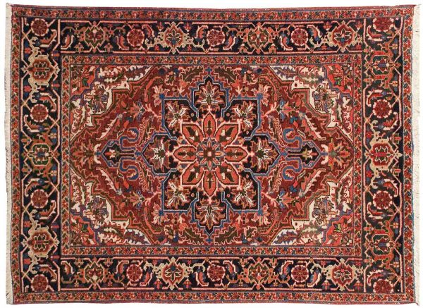 5x6 persian sharabian red oriental rug 034880