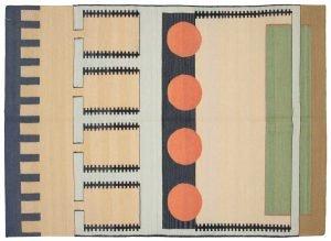 5×7 Nicholls Oriental Multi Color Kilim (Flatweave) Rug