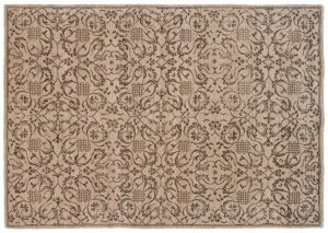 5×8 Morris Oriental Beige Hand-Knotted Rug