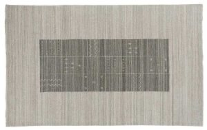 5×8 Gabbeh Oriental Grey Handloom Weave Rug