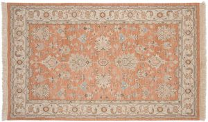 5×8 Mahal Oriental Rust Soumak Weave Rug