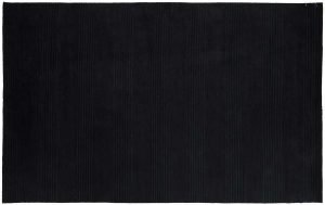 5×8 Nepal Oriental Black Hand-Knotted Rug