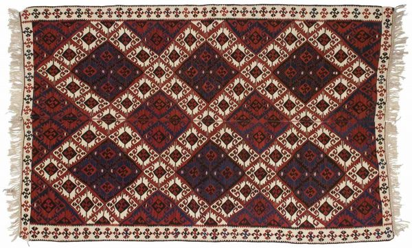5x8 sarkoy red oriental rug 034633