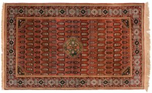 5×8 Shirvan Oriental Gold Hand-Knotted Rug