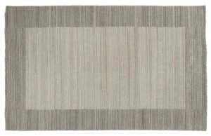 5×8 Gabbeh Oriental Silver Handloom Weave Rug