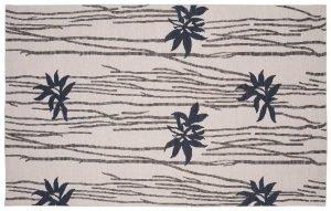 5×8 Soumak Oriental Grey Soumak Weave Rug