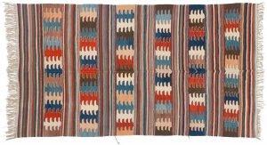 5×9 Kilim Oriental Multi Color Kilim (Flatweave) Rug