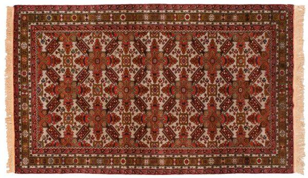 5x9 mikrah grey oriental rug 028194