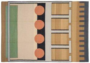 6×8 Nicholls Oriental Multi Color Kilim (Flatweave) Rug
