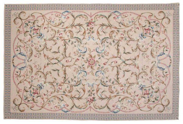 6x9 beige oriental rug 014333