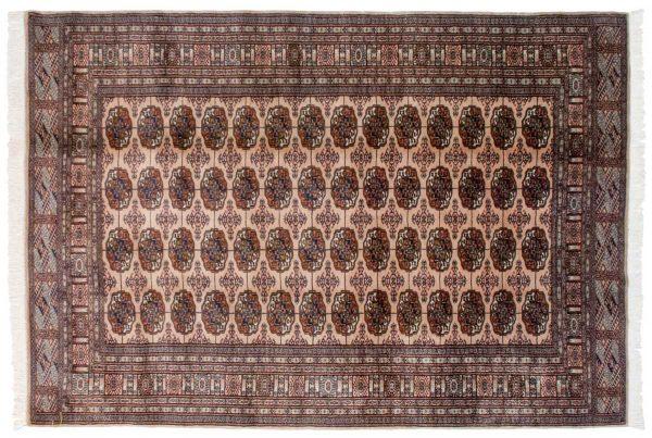 6x9 bokhara beige oriental rug 021957