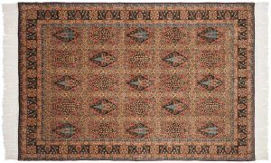 6×9 Bulgarian Oriental Multi Color Hand-Knotted Rug