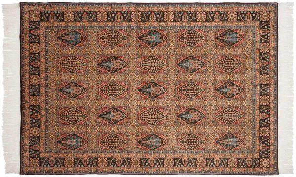 6x9 bulgarian multi color oriental rug 046140