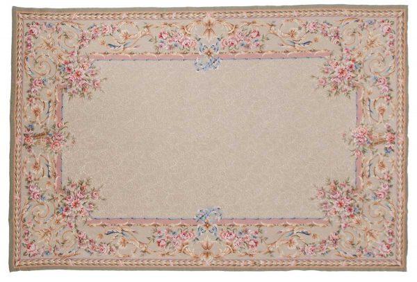 6x9 green oriental rug 014336