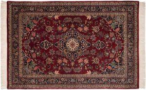 6x9 kashan red oriental rug 032268
