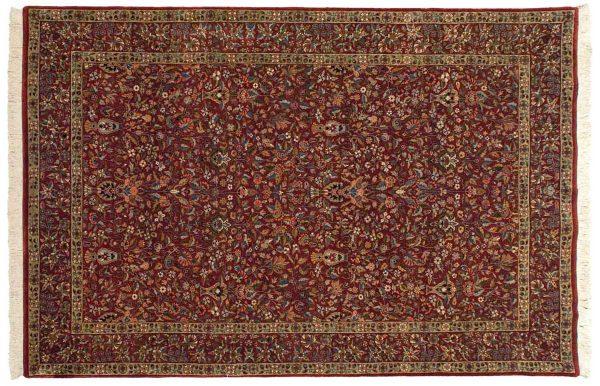 6x9 kerman red oriental rug 038590
