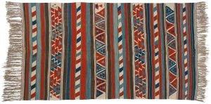6×9 Kilim Oriental Multi Color Kilim (Flatweave) Rug