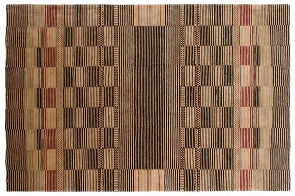 6x9 multi color oriental rug 041825