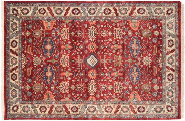 6x9 red oriental rug 032108